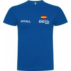 Camiseta de algodón EMCOM