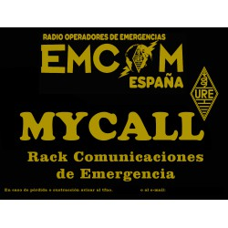 Placa EMCOM Rack de Emergencias