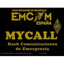 Placa EMCOM Rack de Emergencias