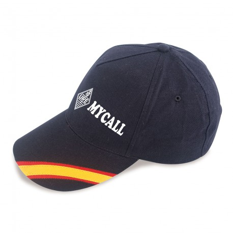 Gorra bandera con indicativo y logo URE