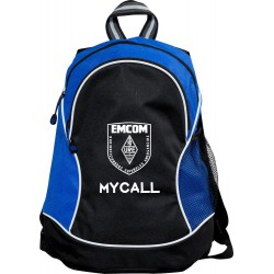 Mochila con logo EMCOM