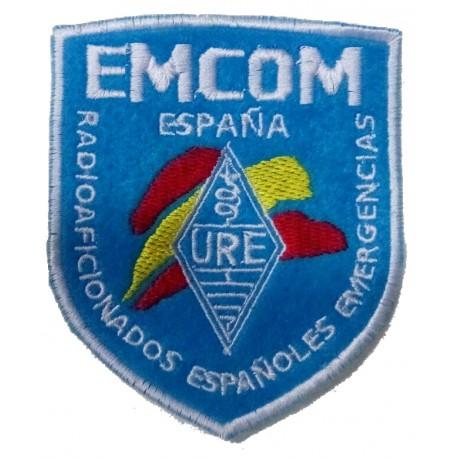 Parche bordado EMCOM