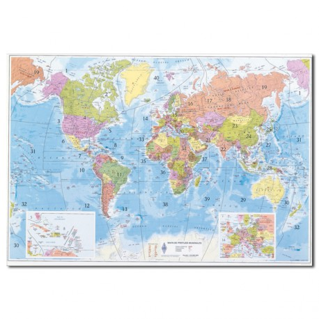 Mapa de prefijos mundiales