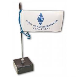 Bandera URE para mesa (altura 18 cm)