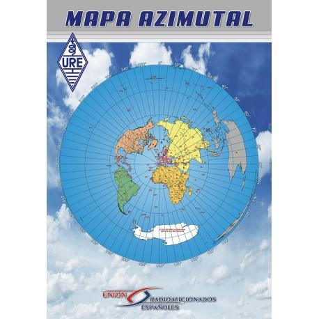 Mapa azimutal