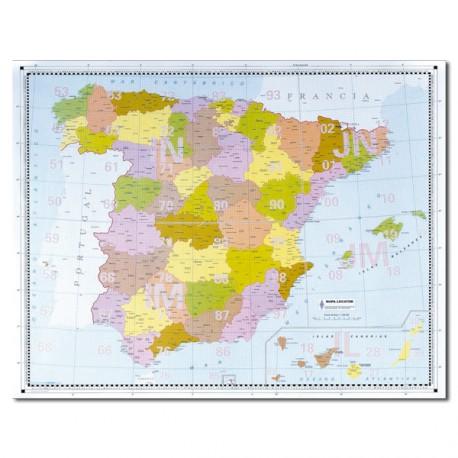 Mapa locator de España