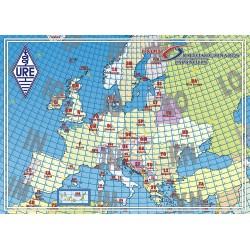 Mapa locator de Europa