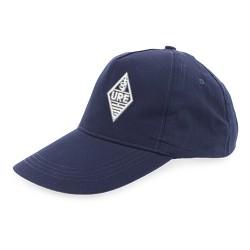 Gorra de algodón con logo URE
