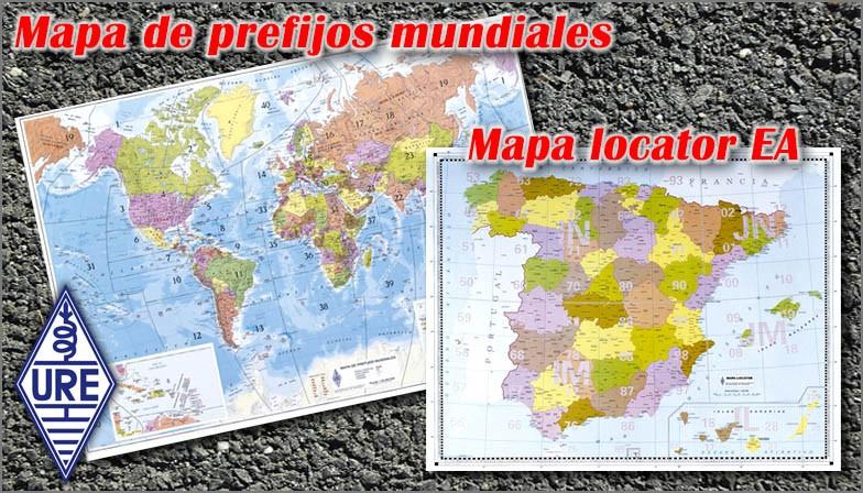 Mapas mundial y locator